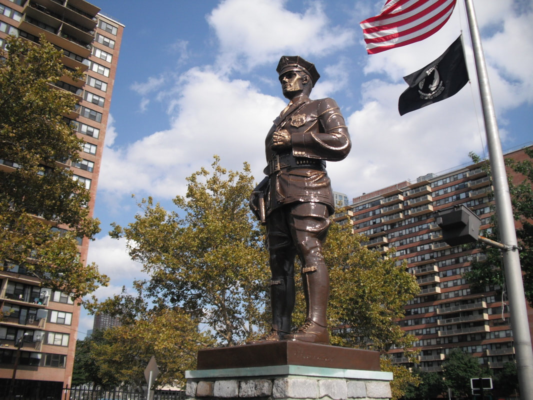 Jersey City, NJ Bronze Statue Restoration
