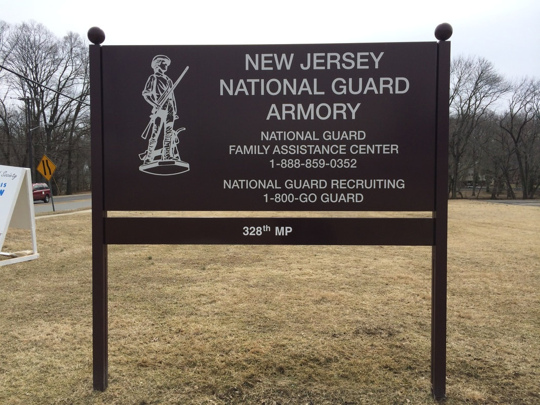 Cherry Hill, NJ Armory Signage