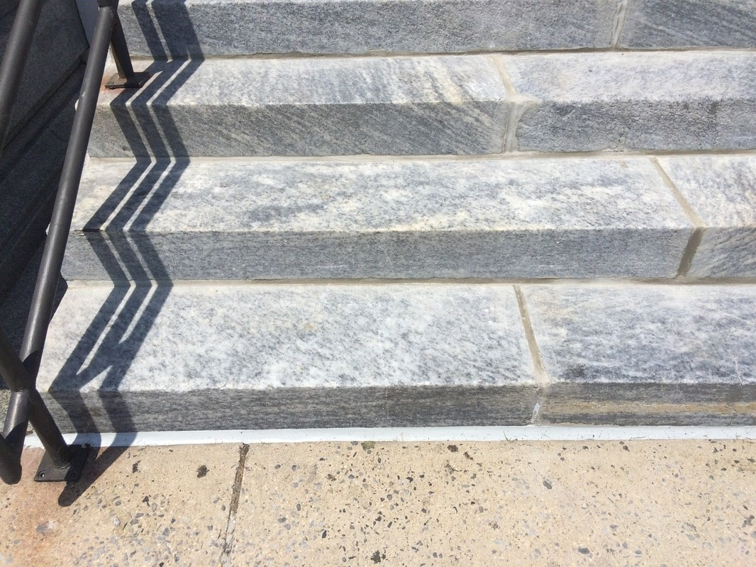 Belleville, NJ Granite Step Restoration