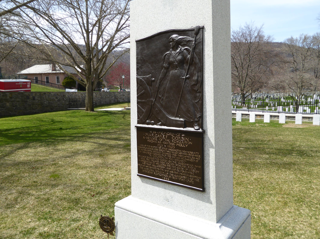 West Point Margaret Corbin Bronze Plaque Granite Restoration